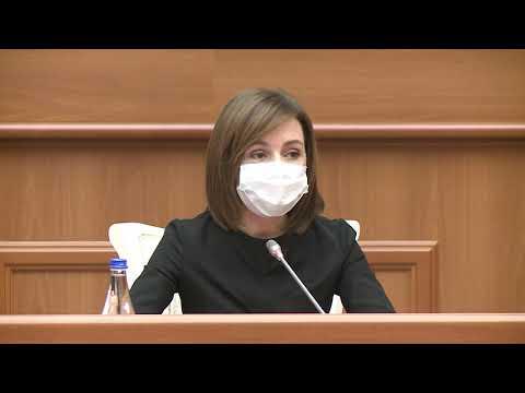 """Președintele Republicii Moldova, Maia Sandu, a prezidat ședința CSS: """"Pe moment, nu există niciun indiciu al unei lupte reale anticorupție"""""""