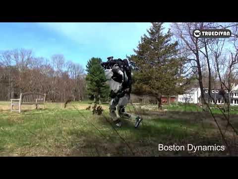 Терминатор сбежал от своих мучителей (озвучка свежего видео от Boston Dynamics)