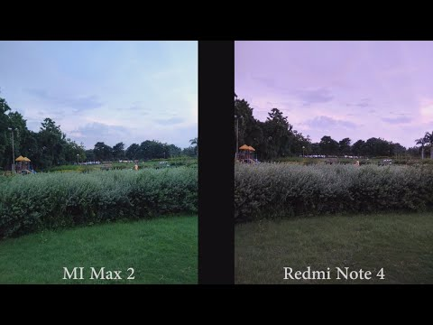 MI Max 2 vs Redmi Note 4 Camera Comparison