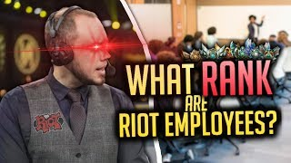 Video What RANK Are Riot Employees? MP3, 3GP, MP4, WEBM, AVI, FLV Juni 2018