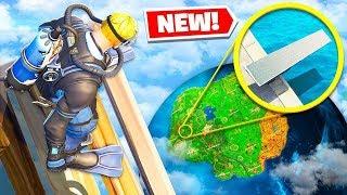 *NEW* IMPOSSIBLE LANDING CHALLENGE Gamemode in Fortnite Battle Royale!