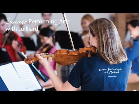 Summer Performing Arts with Juilliard | What happened last year?