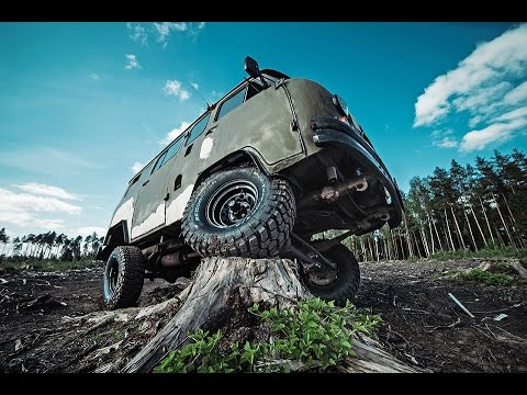 Уаз буханка 35 колеса снимок