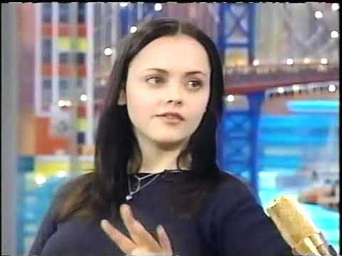 Christina Ricci Interview Rosie O'Donnell 11/17/1999