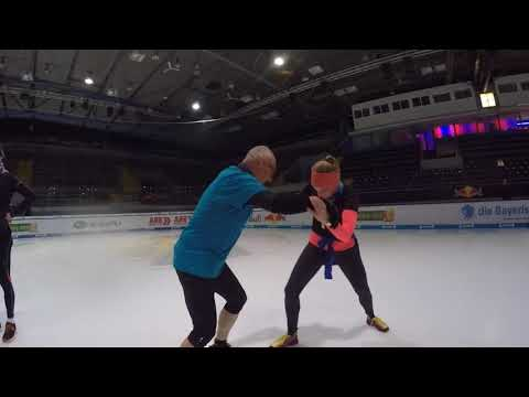 Icebug Test Schuhe on Ice