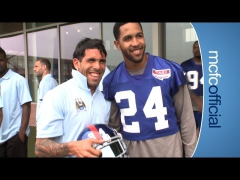 ny - A special tour for The Blues players as they visit the New York Giants training facility. Subscribe for FREE and never miss another CityTV video. http://www....