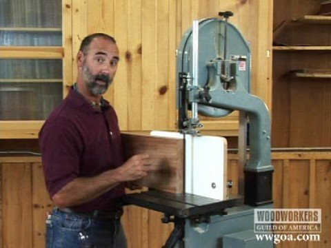 Woodworking Tips: Band Saw - Resawing