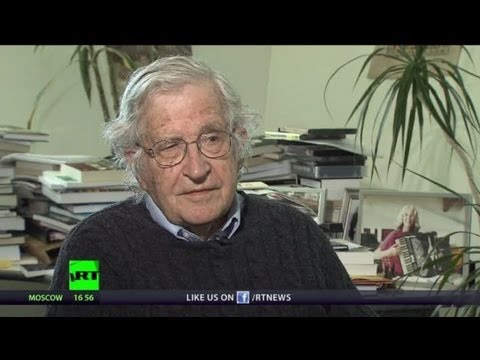 exclusive - Abby Martin talks to philosopher, linguist, professor, political critic and author of over 100 books Dr. Noam Chomsky about the Boston bombings, US terror in...