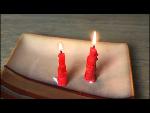Emergency Candle Out of Cheese Wax – Zombie Survival Tips #26