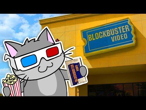 Cat Goes to BLOCKBUSTER! - AM64 (видео)