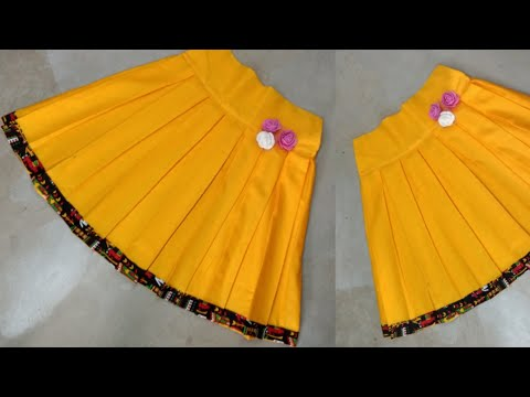 Box Plate Short Skirt Cutting and Stitching by Beautiful Lady Style/ Baby Skirt/ New Design Skirt