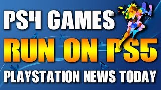 """PS4 Games Run on PS5? """"Today's PlayStation Update"""""""