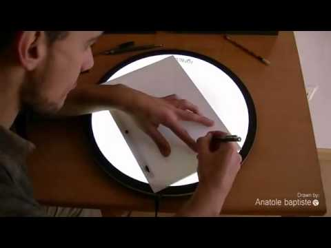 Mesa de luz animacion 2D lightcurver
