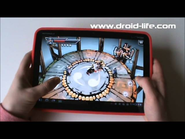 Motorola XOOM Gaming Review