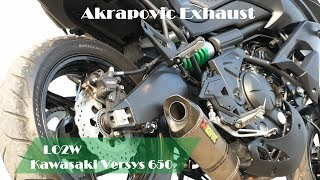 8. Top 9 Full Exhaust Sound Kawasaki Versys 650 / Akrapovic, Arrow, IXIL, MIVV, LeoVince, Yoshimura