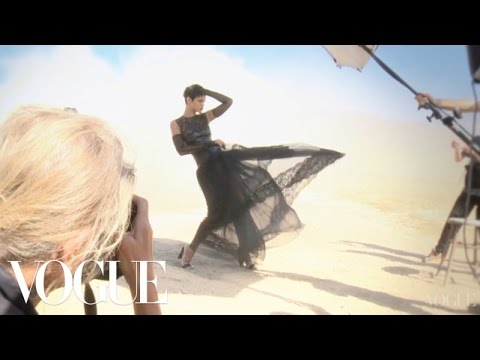 Rihanna's November 2012 Vogue Cover Shoot – Vogue Diaries