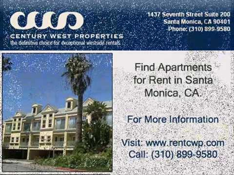 video:Rent apartment in Santa Monica, CA - www.rentcwp.com