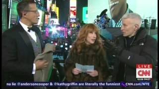 New Year's Eve Live 2015 Anderson Cooper Kathy Griffin Times Square New York (5/17)