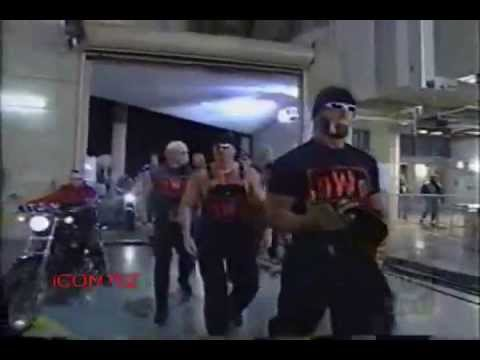 nwo - NWO with Hells Angles WCW 1999. Hollywood Hogan, Kevin Nash, Scott Hall, Lex Luger, Scott Steiner, Buff Bagwell, Scott Norton and all the others 2 sweet. Wat...