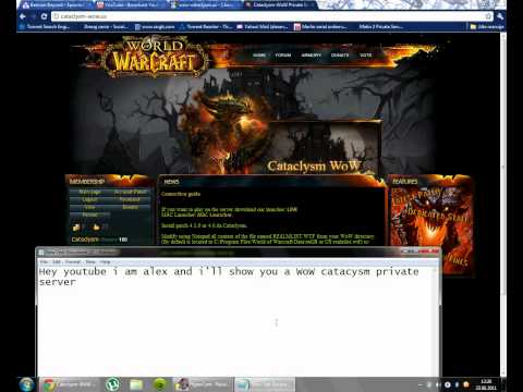 Best WoW cataclysm private server