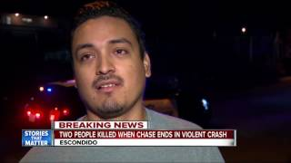 Nonton 2 killed after chase in Escondido ends in crash Film Subtitle Indonesia Streaming Movie Download