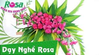 Hướng dẫn cắm hoa lan mừng sinh nhật - How to arrangement flower