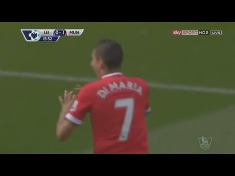 angel di maria - goal pazzesco in leicester - manchester