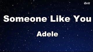 Video Someone Like You - Adele Karaoke【No Guide Melody】 MP3, 3GP, MP4, WEBM, AVI, FLV Januari 2019