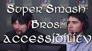 Improving the Accessibility of Super Smash Bros.