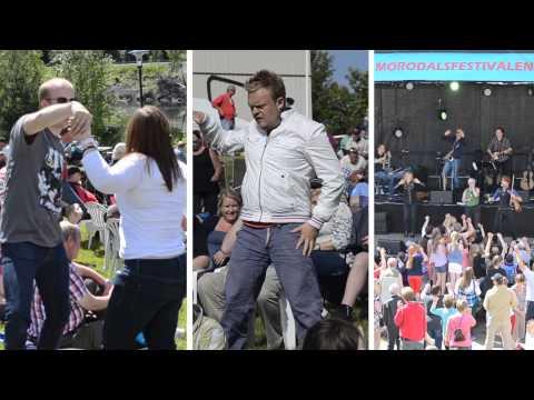 Watch videoDown Syndrom: Morodalfestivalen 2014