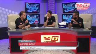Entrevista con Antonio Núñez en TVC Deportes Al Dia