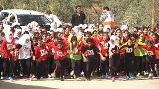 انطلاق بطولة سباق الضاحية لمدارس الاناث في محافظة طولكرم
