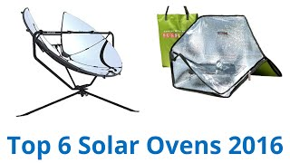 CLICK FOR WIKI ▻▻ https://wiki.ezvid.com/best-solar-ovens?id=ytdesc Solar Ovens Reviewed In This Wiki: American Educational Sun Spot All Season Solar ...