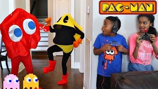 PAC-MAN ATTACKS Bad Baby Shiloh and Shasha - Onyx Kids Subscribe for more funny videos! http://bit.ly/2jC2E1C Watch more...