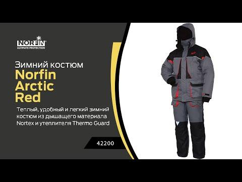Відео демонстрація костюму Norfin Arctic Red