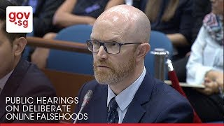 Video Facebook must take questions from a Singapore Select Committee seriously MP3, 3GP, MP4, WEBM, AVI, FLV September 2018
