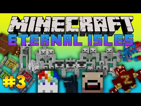 Minecraft | ETERNAL ISLES | Modded SMP: Ep. 3- FISHING TREASURE!