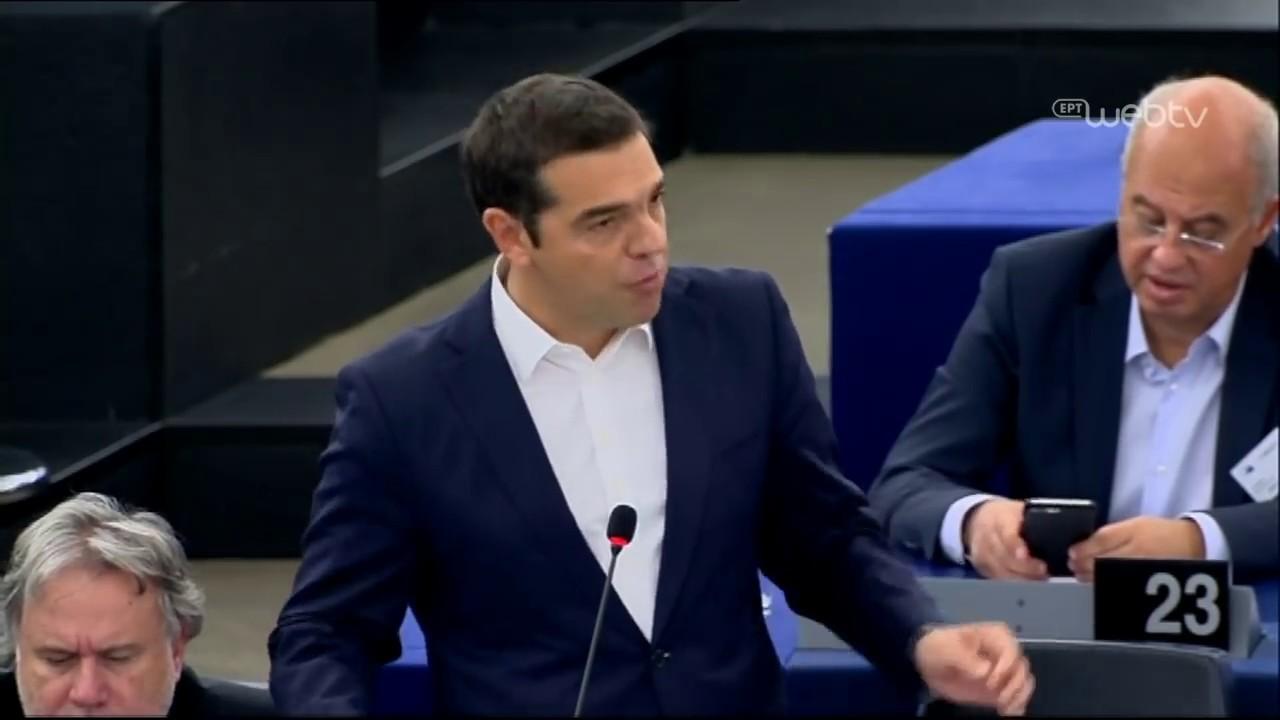 Τριτολογία στην Ολομέλεια του Ευρωπαϊκού Κοινοβουλίου για το μέλλον της Ευρώπης