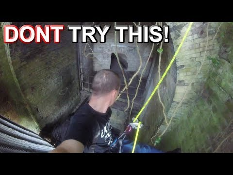 Dangerous Abseil into Abandoned Fort Tunnels