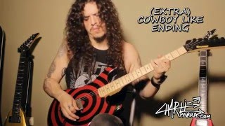 Charlie Parra - 10 guitar techniques in GLAM METAL / HARD ROCK!!! Video