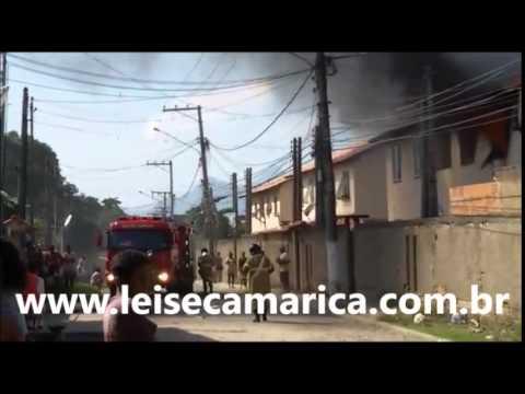 Incêndio destrói apartamento em Ponta Grossa; Veja o Vídeo
