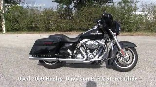 5. 2009 Harley Davidson Street Glide for sale  - Black with Supertrapp Exhaust