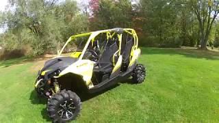 10. 2018 Can Am Maverick Max XMR 1000R Sunburst Yellow & Carbon Black