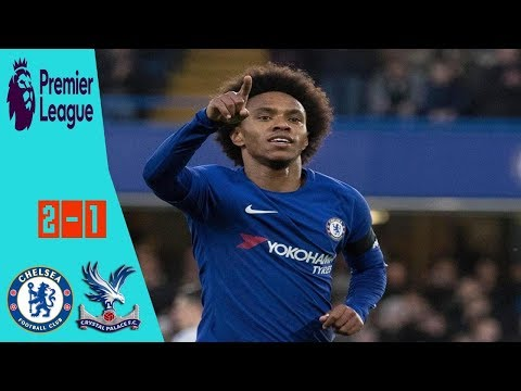 Chelsea vs Crystal Palace 2-1 All Goals & Extended Highlights EPL 10 03 2018 HD