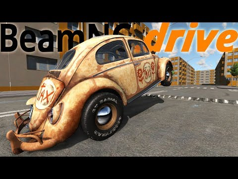 What Happens When A Car Has A Personality? - Herbie The Love Bug With Full Emotions - BeamNG Drive