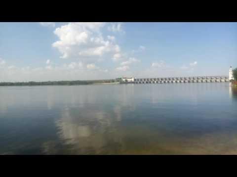 Река Дон.Цимлянская ГЭС (видео)