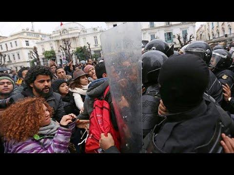 Τυνησία: Κλιμακώνεται η ένταση και οι διαδηλώσεις κατά της λιτότητας …