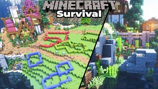 A NEW PLAN for the Minecraft 1.15 Survival Village project!
