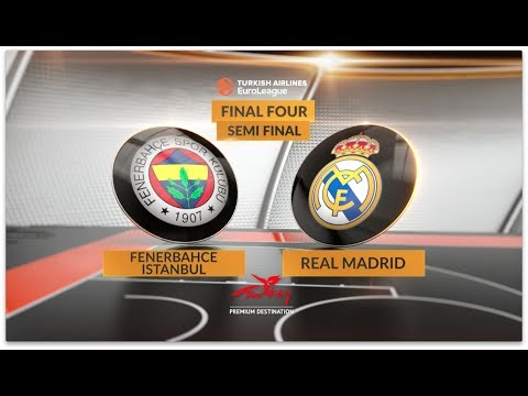 Highlights, Final Four, Semifinal: Fenerbahce Istanbul vs. Real Madrid