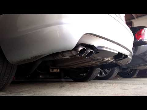 e46 330d decat + straight pipe exhaust